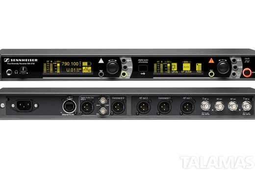 Sennheiser EM3732-II Two channel Receiver