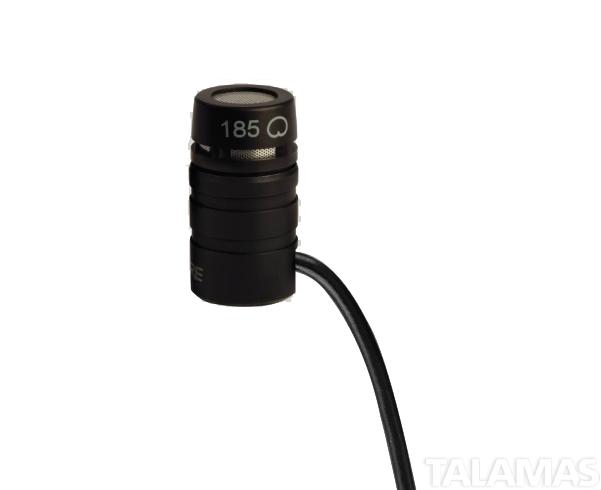 Shure MX 185BP Cardioid Lavalier Microphone