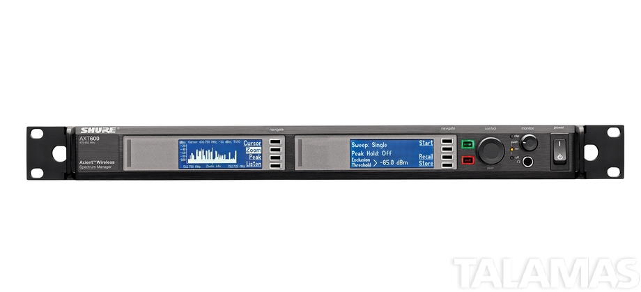 Shure AXT600 Spectrum Manager
