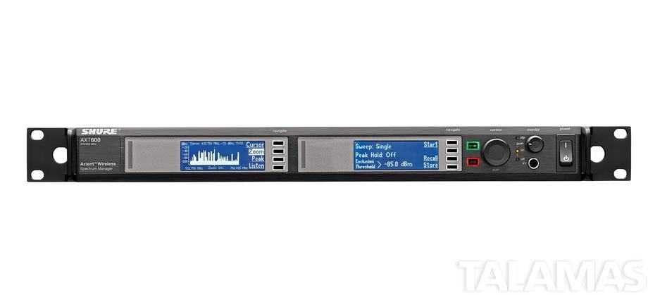 Shure AXT600 Spectrum Manager