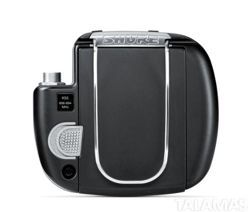 Shure Micro Bodypack Transmitter Back view