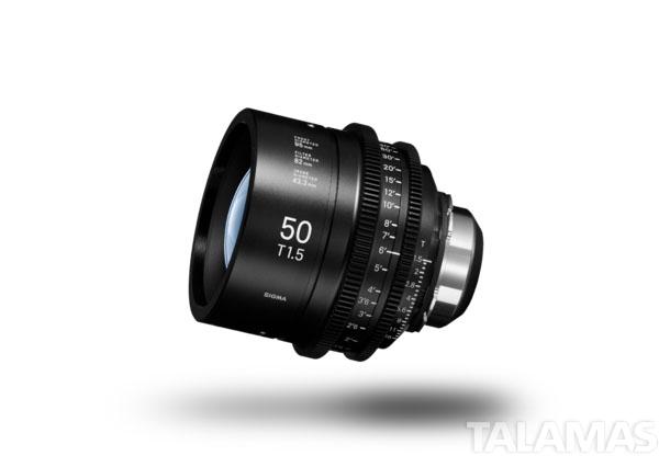 Sigma Cine PL Prime 50mm Lens