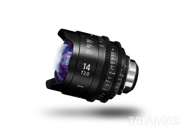 Sigma Cine PL Prime 14mm Lens