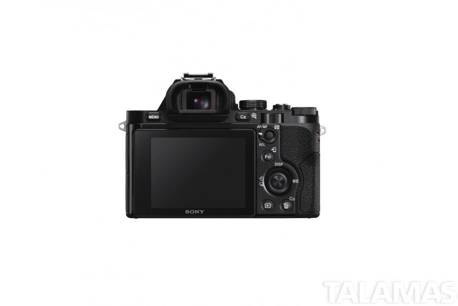 Sony a7S II camera rear