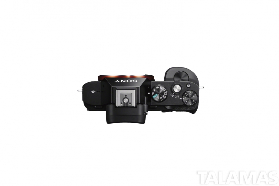 Sony a7S II camera top