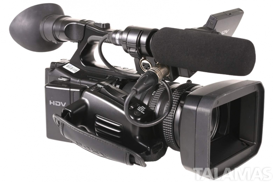 Sony HVR Z7U 1080i HDV Camcorder right view