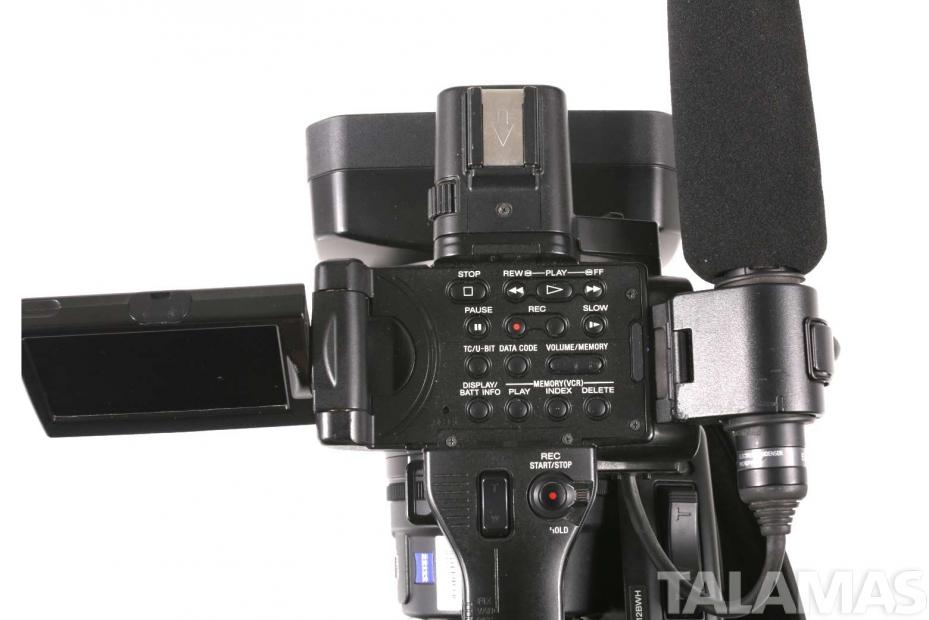 Sony HVR Z7U 1080i HDV Camcorder top view