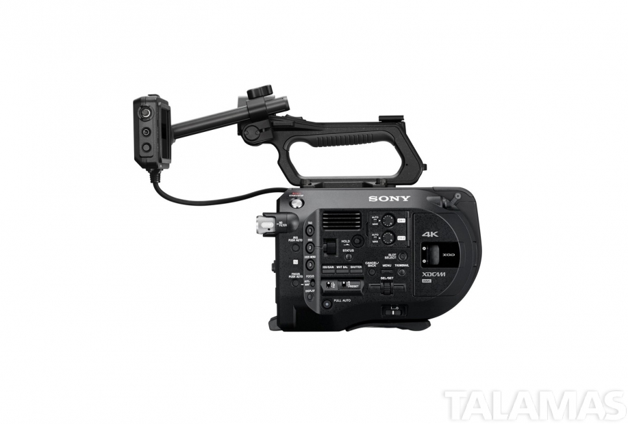 Sony PXW-FS7 side view