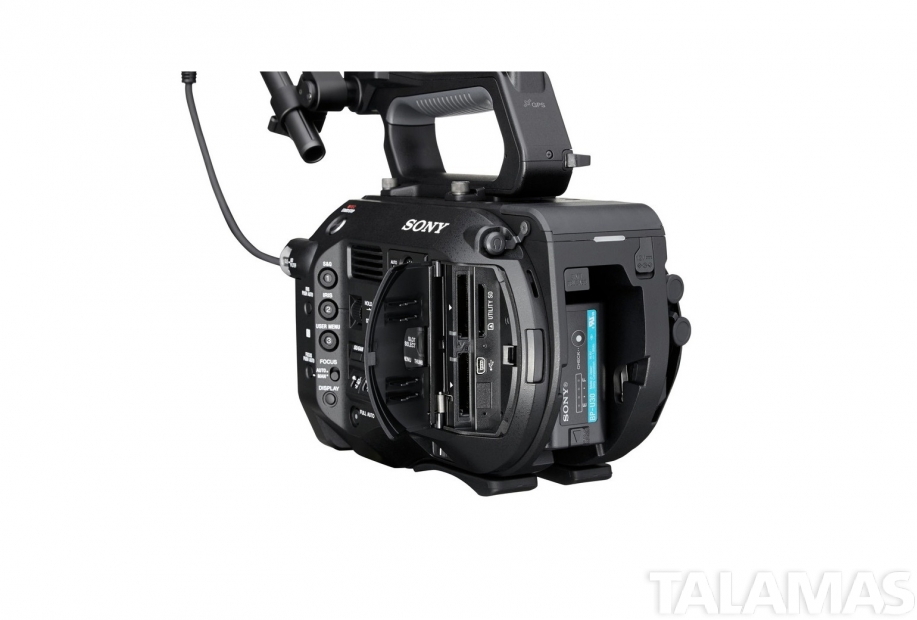 Sony PXW-FS7 left rear