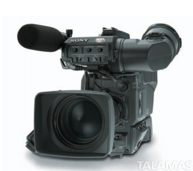 Sony DXC D50WS Camera with CAD50 Multicore Studio Back with SDI Out