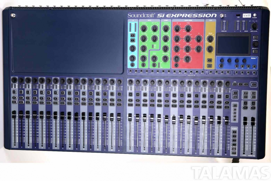rental soundcraft si expression 3 digital mixer. Black Bedroom Furniture Sets. Home Design Ideas
