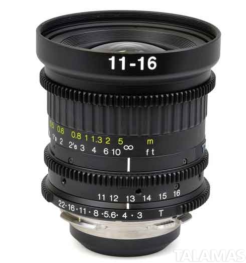 Tokina 11-16mm T3 Cinema Lens
