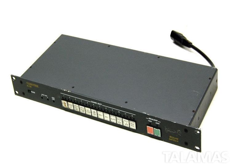 Videotek RS-12DV/EAM-1 SDI Routing Switcher