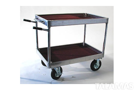 Yaeger Junior Cart with Hi Hat Rails