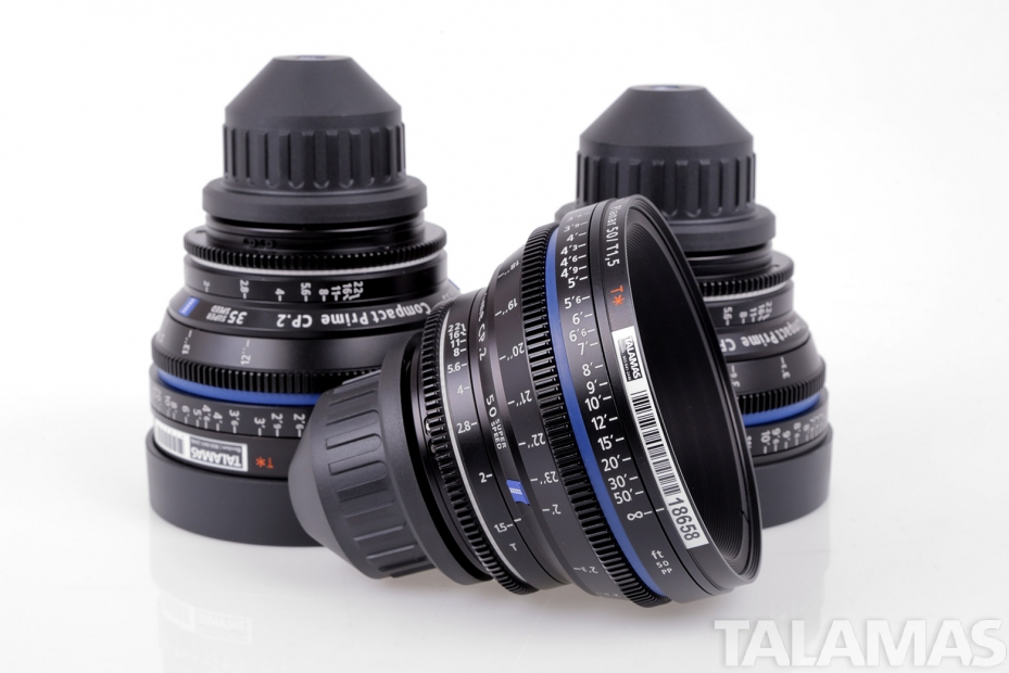 ZEISS COMPACT PRIME CP.2 SUPER SPEED LENSES T1.5