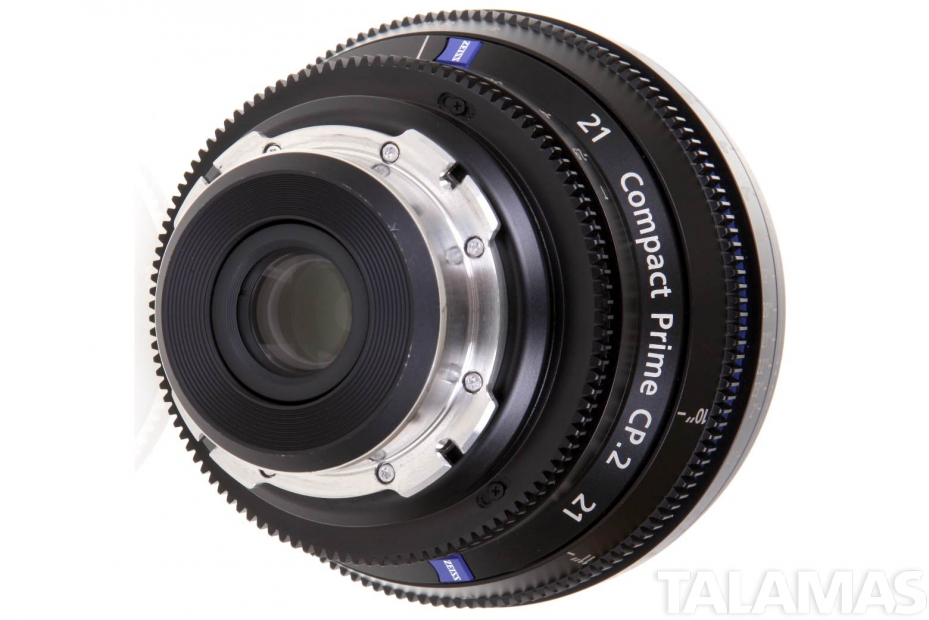 Zeiss 21mm T2.9 CP.2 Compact Prime Lens with PL Mount rear view