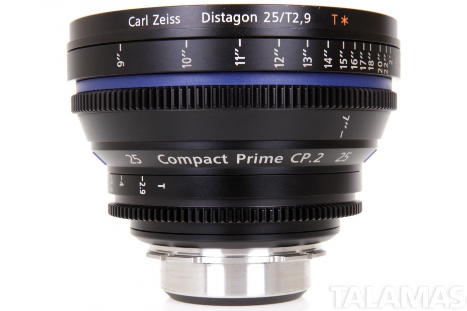 Zeiss 25mm T2.9 CP.2 Compact Prime Lens with PL Mount