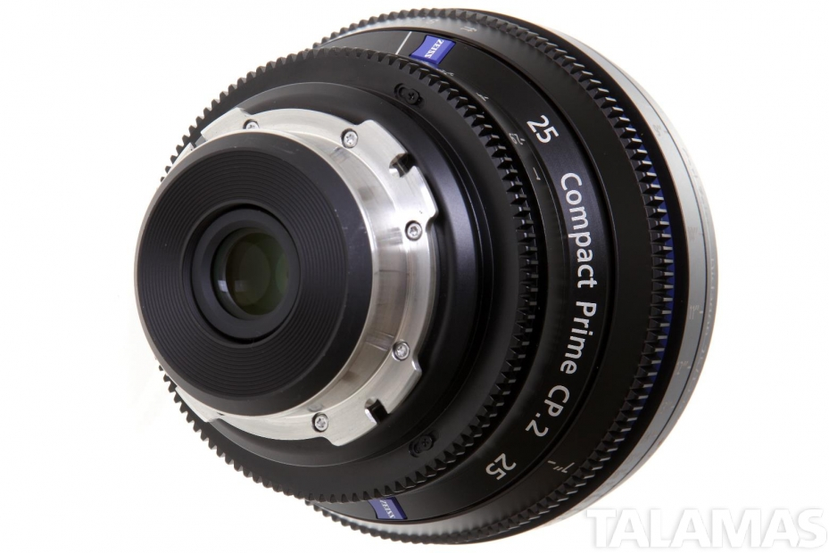 Zeiss 25mm T2.9 CP.2 Compact Prime Lens with PL Mount rear view