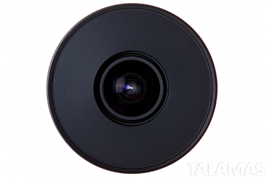 Zeiss 25mm T2.9 CP.2 Compact Prime Lens with PL Mount front view