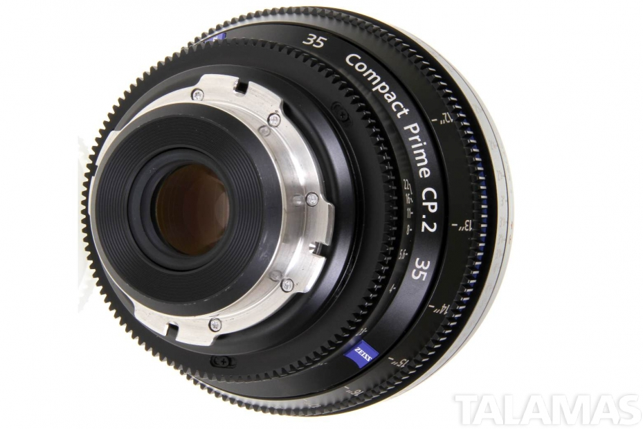 Zeiss 35mm T2.1 CP.2 Compact Prime Lens rear view