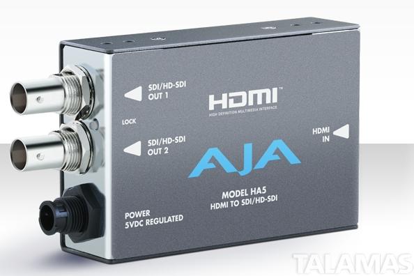 AJA HA5 HDMI to HD/SD SDI Mini Converter