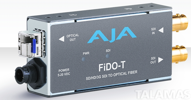 AJA Single-channel SD/HD/3G SDI to Optical Fiber