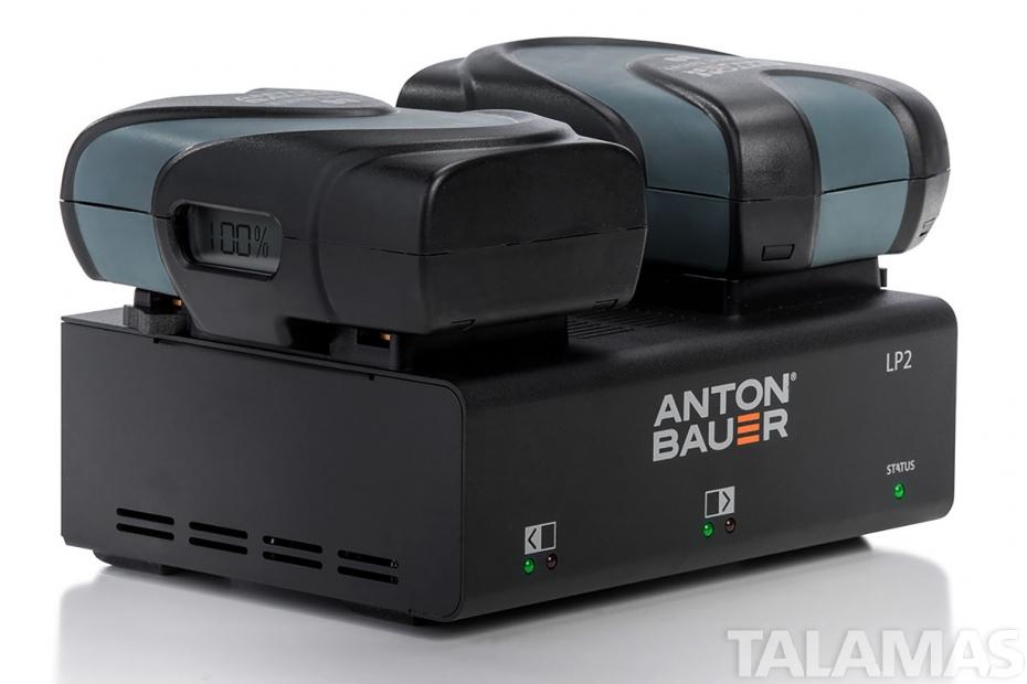 Anton Bauer LP2 Dual Gold Mount Charger