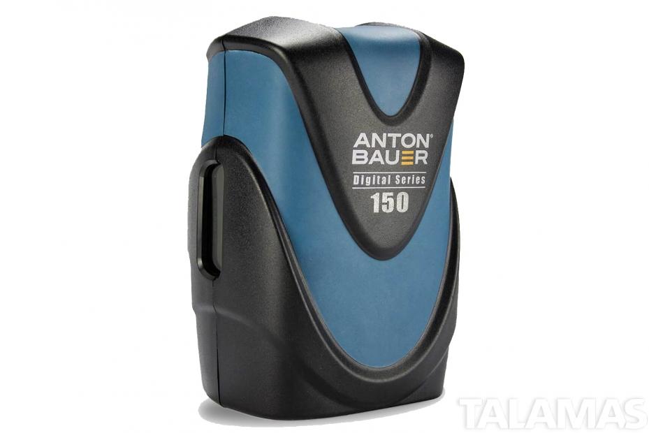 Anton Bauer Digital 150 Gold Mount Lithium Ion DIGITAL Battery, 14.4 volts, 156 watt hours