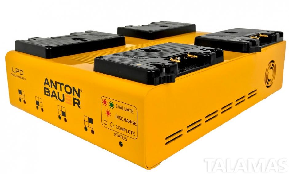 Anton Bauer 8475-0135. LPD Quad Gold Mount Discharger