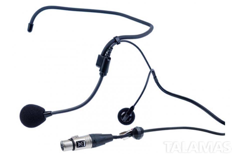 ClearCom CC-27, Single-ear wrap around  headset, A4F