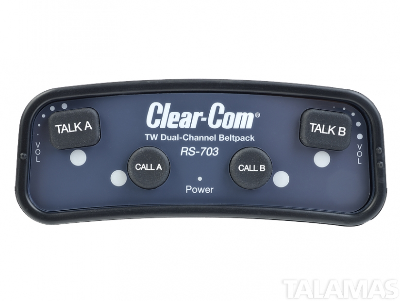 Clear-Com RS-703 Two Channel Dual Listen Beltpack