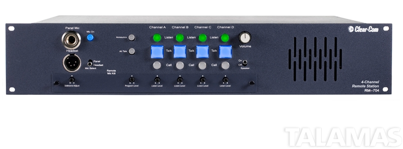 Clear-Com 4-Channel Simultaneous Headset / Speaker Station