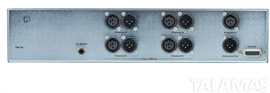 Clear-Com 4-Channel Simultaneous Headset / Speaker Station