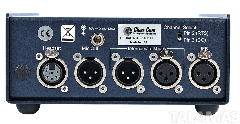 ClearCom AB-120 On-Air Announcer Console