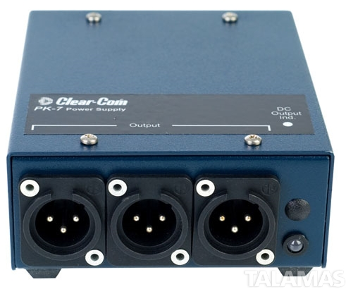 Clear-Com PK-7 Single-Channel 0.4-amp portable power supply