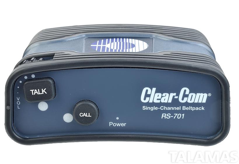 Clear-Com RS 701 Single-Channel Standard Beltpack