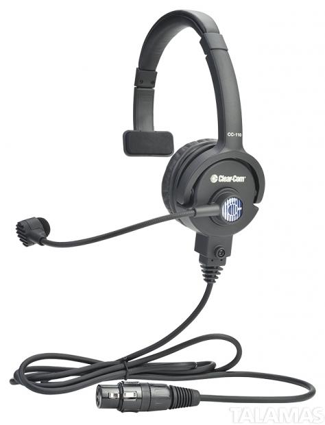 Clear-Com Lightweight Single-ear Headset