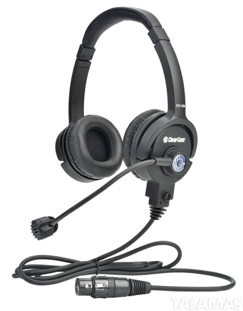 Clear-Com CC-220-X4 Double On Ear  XLR Cardioid