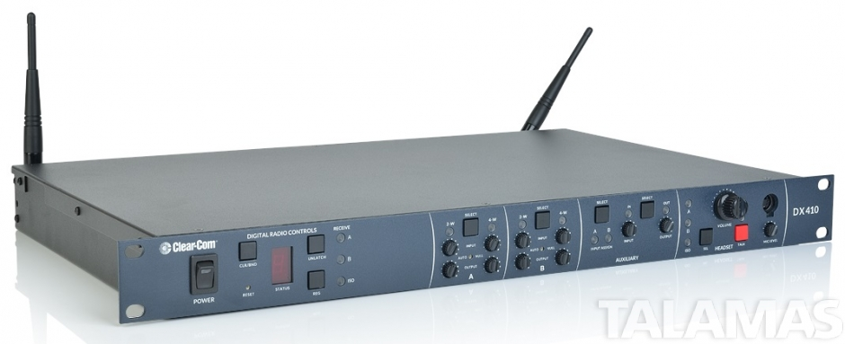 Clear-Com DX410 Two Channel Digital Wireless System