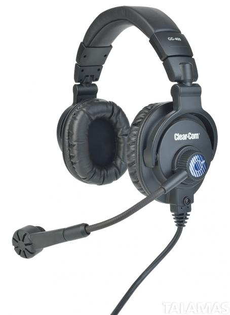 Clear-Com CC-400 Double-Ear Head Set XLR-4M