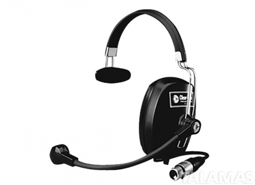 Clear-Com Single Ear Headset, 4 pin XLR