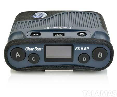 Clear-Com FreeSpeak 1.9 GHz  FSII Digital Wireless Beltpack