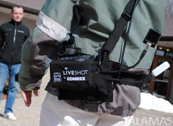 Comrex LiveShot Portable Pouch by Portabrace