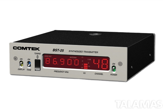 Comtek BST-25 Base Station Transmitter, 76-88MHz