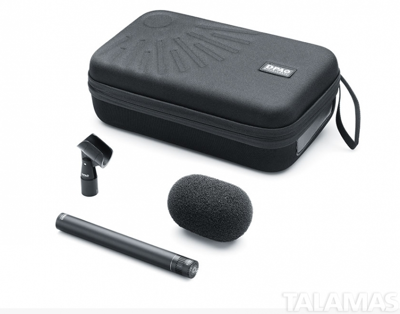 DPA d:dicate 4015A Wide Cardioid Microphone Black