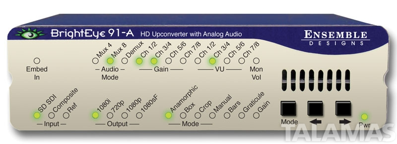 Ensemble Designs BrightEye 91-A HD Upconverter with Analog Audio