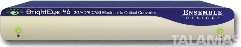 Ensemble Designs BrightEye 46 3G/HD/SD/ASI Electrical to Optical Converter