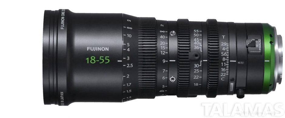 Fujinon MK18-55mm T2.9 Lens (Sony E-Mount)