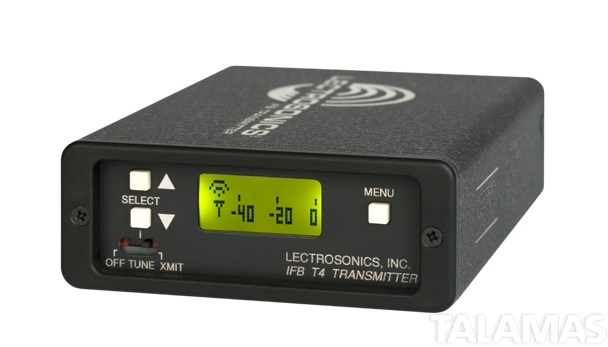 Lectrosonics IFBT4 Frequency-Agile Compact IFB Transmitter