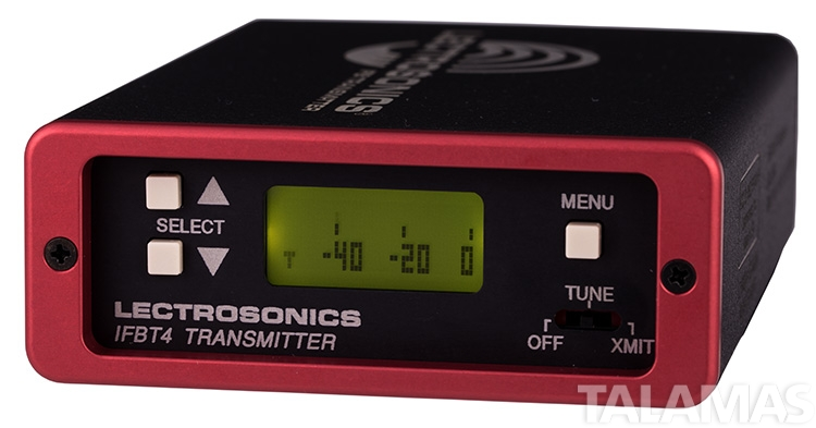 Lectrosonics IFBT4 VHF Frequency-Agile Compact IFB Transmitter